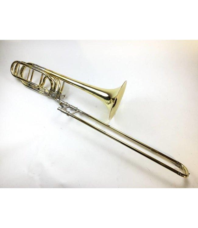 Yamaha Used Yamaha 613H/Bach Bell Bb/F/Gb/D Bass Trombone