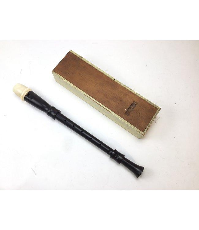 Unknown Used Antique Alto Recorder