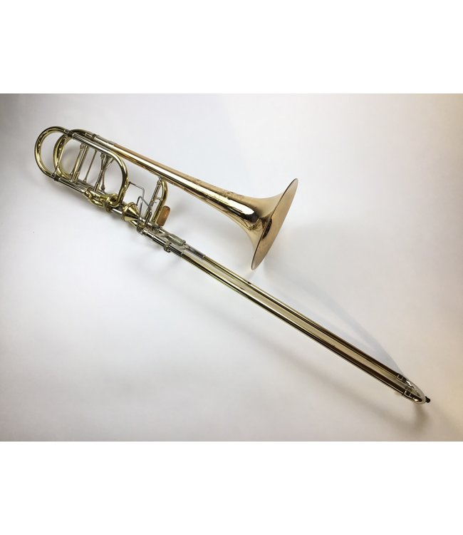 Shires Used Shires Bb/F/Gb/D Independent Bass Trombone