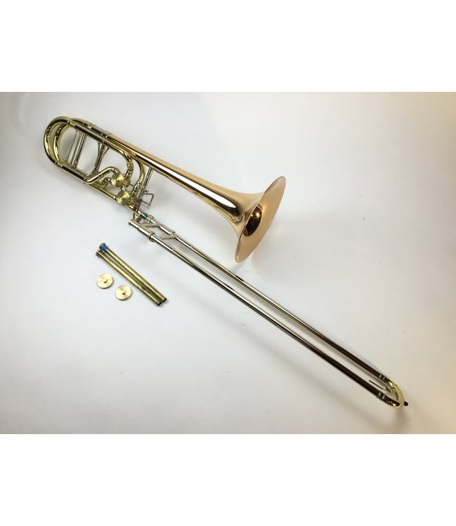 M&W Trombones Used M&W Bb/F/D Dependent Bass Trombone