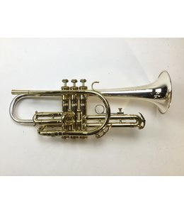 King Used King Master Model Silver Sonic Bb Cornet
