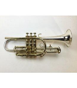King Used King Master Model Silver Sonic Bb Cornet (SN: 413006)