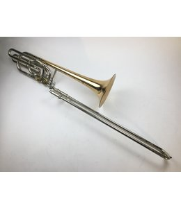 Olds Used Olds P-24G Custom Bb/F/Gb/D Bass Trombone