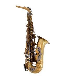 The Growling Sax The Growling Sax Origin Series Professional Alto Saxophone, Black Nickel and brown gold lacquer