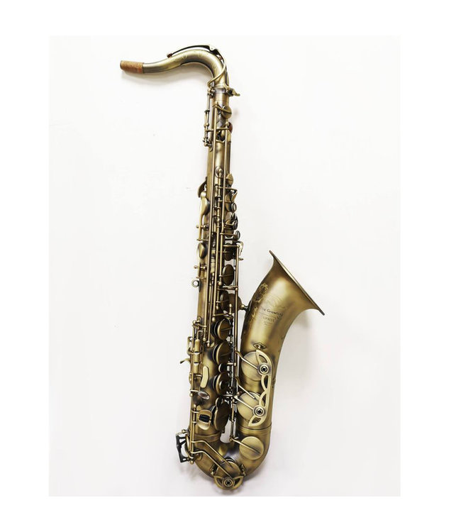The Growling Sax The Growling Sax Uprise Series Professional Tenor Saxophone, Satin Antique Dark