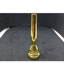 Stork Used Stork 1.5C w/ C backbore, trumpet, gold plate
