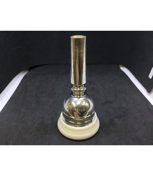 Perantucci Used Perantucci PT-88 Tuba Mouthpiece, Plastic Screw Rim