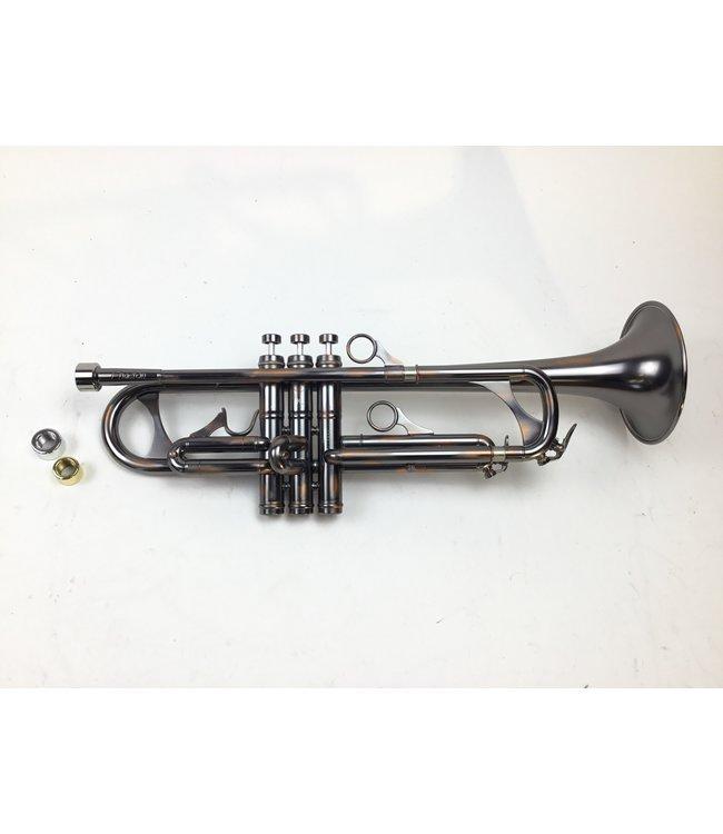 Phaeton Demo Phaeton PHT-2060 Bb Trumpet in Matte Silver Finish