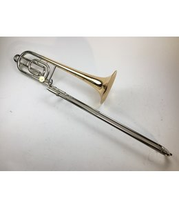 Olds Used F.E. Olds Custom Crafted P-22 Bb/F Bass Trombone