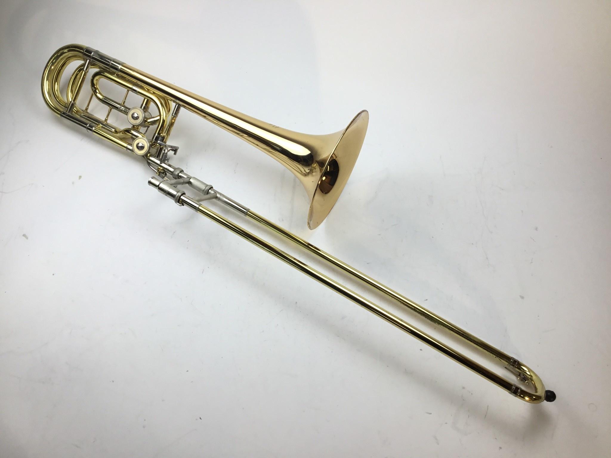 Used Yamaha YBL-622G Bb/F/D Bass Trombone