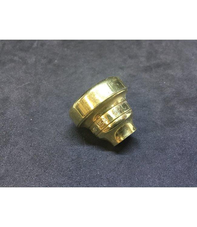 Warburton Used Warburton 6MC trumpet top, gold plate