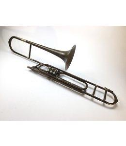 Schmelz&Passau Used Schmelz & Passau F Rotary Valve Bass Trombone