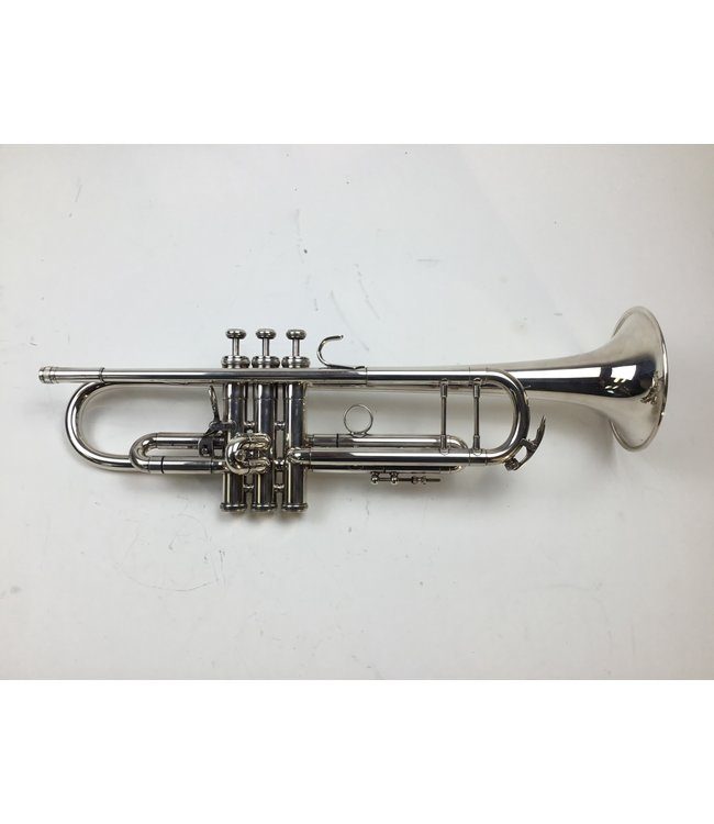 King Used UMI King Silver Flair Bb Trumpet