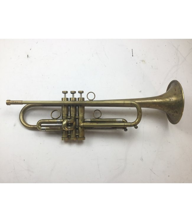 Raw Brass Trumpets Used RBT Benzina Bb Trumpet with Melk Leadpipe