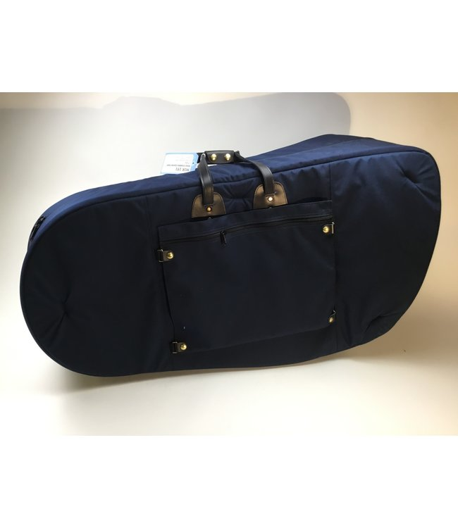 Torpedo Bags Used Cronkhite Large Tuba Bag, Dark Blue Fabric