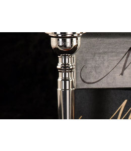 Monette Monette Tradition PLUS Trumpet Mouthpiece Silver Plate