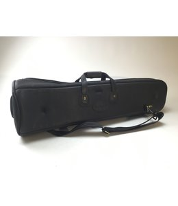Cronkhite Demo Cronkhite Small Straight Tenor Trombone Travel Case in Pebbled black leather