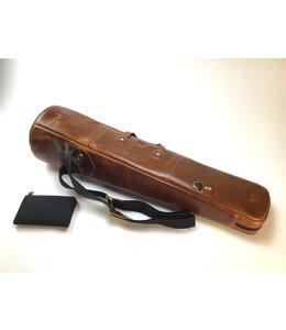 Cronkhite Used Cronkhite Small Straight Tenor Trombone Case, Canyon Sunrise Leather
