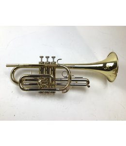 Blessing Used Blessing USA B-125 Bb Cornet (SN: 583711)