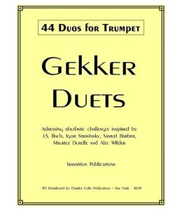 Charles Colin Gekker 44 Duos for Trumpet