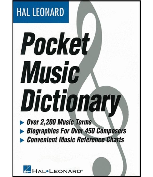 Hal Leonard The Hal Leonard Pocket Music Dictionary Book