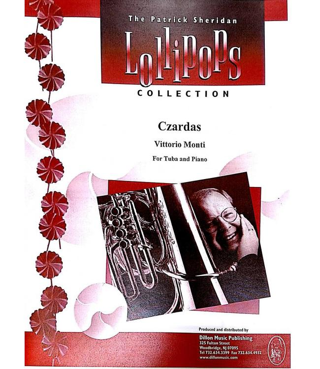 Dillon Music Czardas - Vittorio Monti, For Tuba and Piano