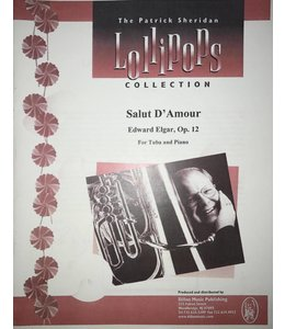Dillon Music Salut d'Amour - Edward Elgar, For Tuba and Piano