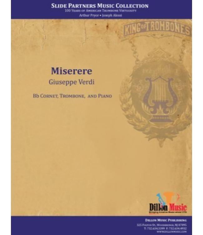 "Dillon Music Miserere- Cornet and Trombone Duet, from ""Slide Partners CD"""