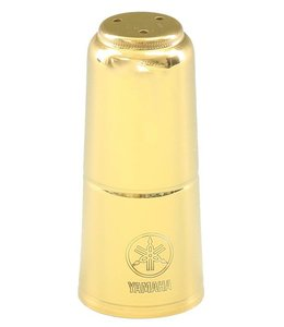 Yamaha Soprano Saxophone Mouthpiece Cap; Gold Lacquer; Yamaha