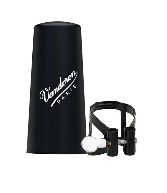 Vandoren Vandoren M/O Series Ligature & Plastic Cap Set Eb Clarinet