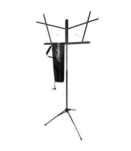 Hamilton Hamilton Music Stand ,Folding w/Clutch.Black w/bag