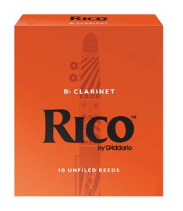 Rico Rico Clarinet Reeds Box of 10