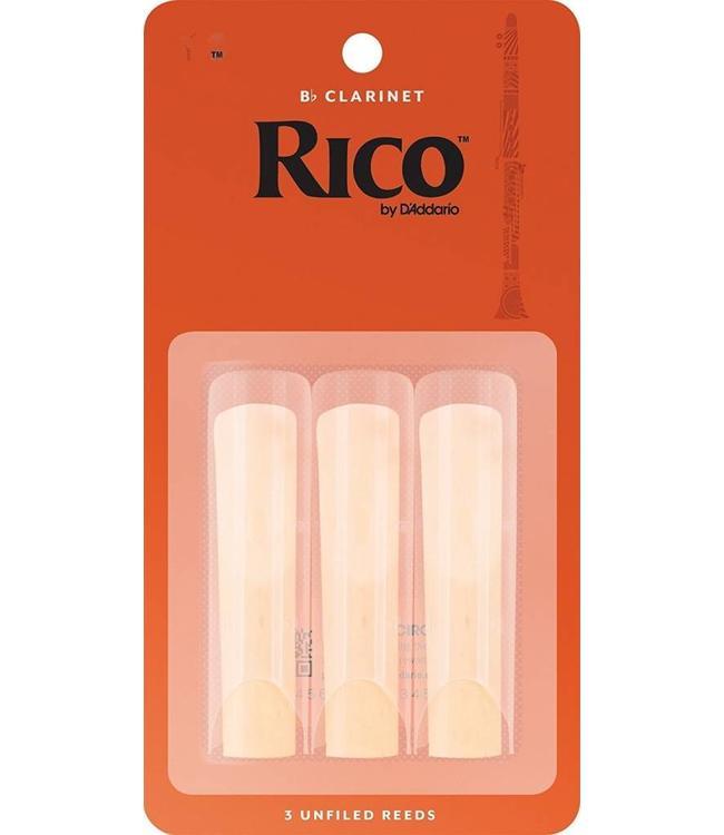 Rico Rico Clarinet Reeds 3 Pack