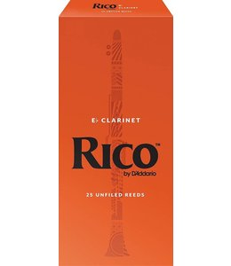 Rico Rico Eb Clarinet Reeds Pack of 25