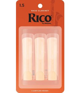 Rico Rico Bass Clarinet Reeds Pack of 3