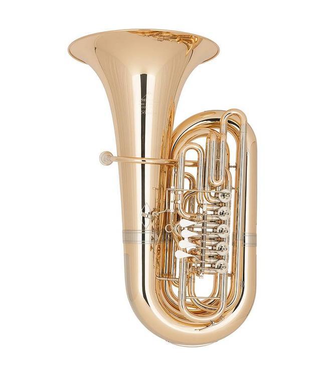 Miraphone Miraphone Bruckner CC291-5V Lacquer CC Tuba