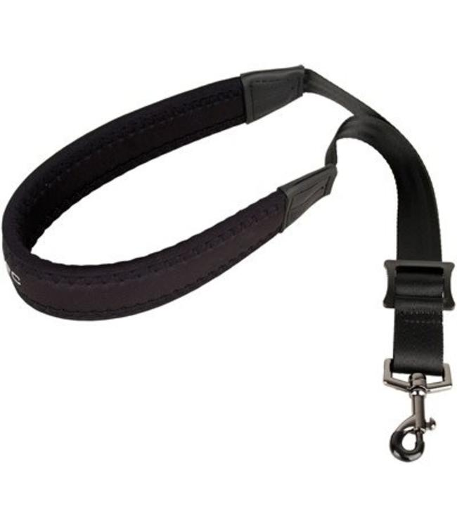 "Protec Protec Saxophone Neoprene Neck Strap 22"" Regular with Metal Snap Black"