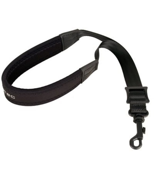 "Protec Protec Saxophone Neoprene Neck Strap 20"" Junior with Plastic Snap Black"