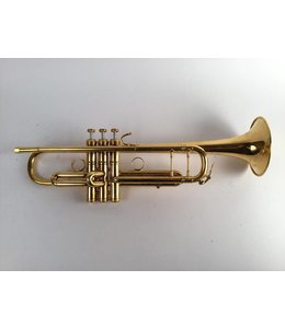 Laskey Used Laskey Pinc Bb Trumpet in Gold Plate