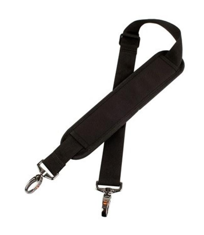 Protec SHOULDER STRAP, THICK PAD, METAL SNAPS  BLACK