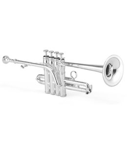 Jupiter Jupiter 1700S XO Model Bb/A Silver-Plated Piccolo Trumpet