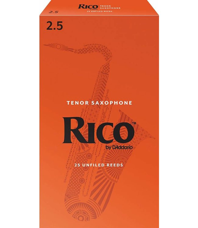 Rico Rico Tenor Saxophone Reeds Pack of 25