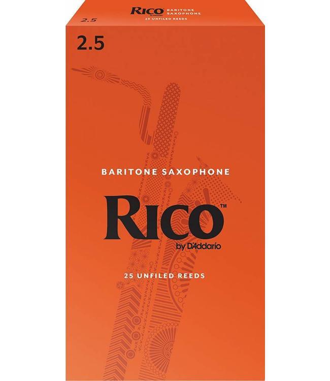 Rico Rico Baritone Saxophone Reeds Pack of 25