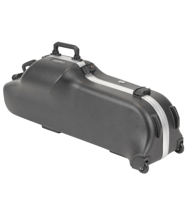 SKB SKB Contoured Pro Baritone Sax Case with Wheels