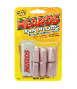 Hearos Hearos Ultimate Softness Ear Plugs 16-Pack With Case