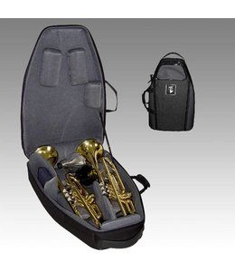 Marcus Bonna Marcus Bonna Flight Case for 2 Trumpets- Black