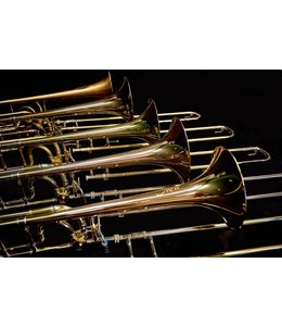 M&W Trombones M&W 322-T BB/F TENOR TROMBONE with Tuning in Slide