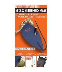 Protec ProTec Neck & Mouthpiece Swab: Clarinets (Bb, A, Bass), Saxophones (Alto, Tenor, Baritone)