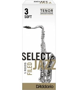 D'Addario D'Addario Select Jazz Filed Tenor Sax Reeds Box of 5