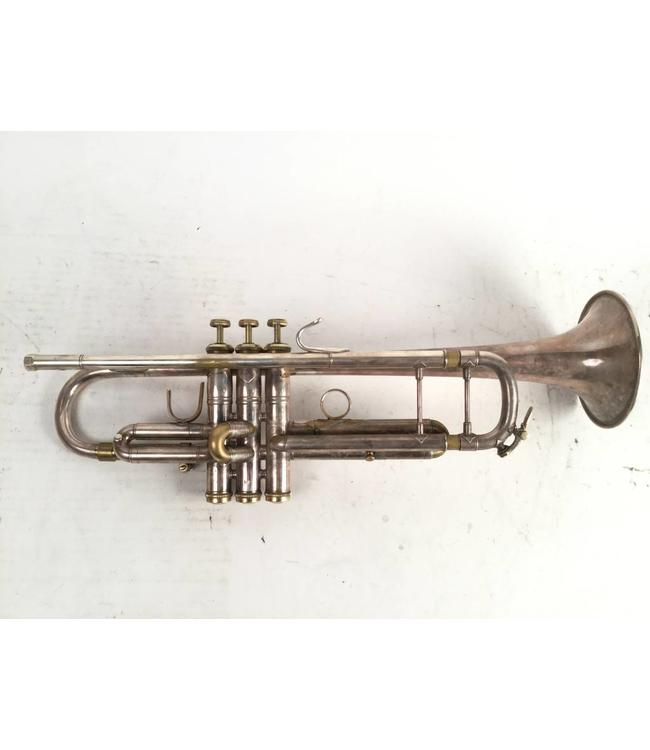 Bach Used Bach LT43, 43 leadpipe and tunable bell in silver plate with gold trim